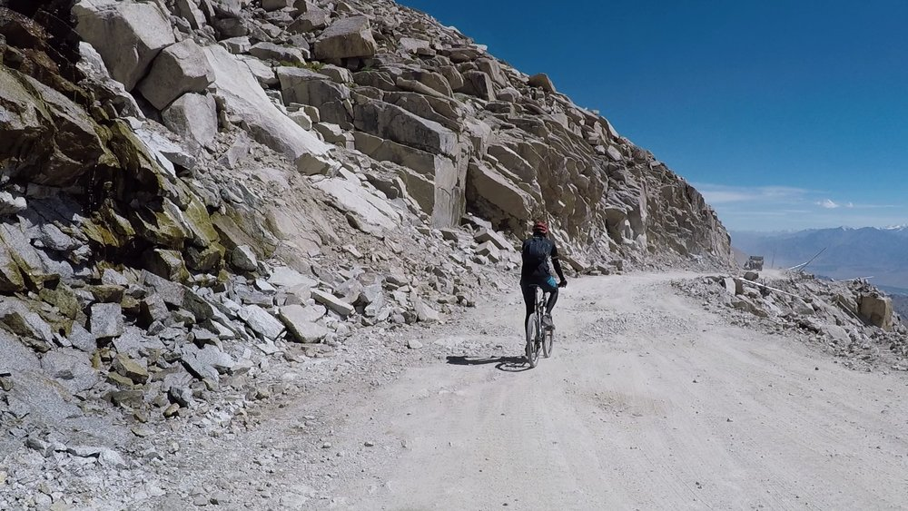 Being a construction worker on the highest motorable road in the world is a fate I wouldn't wish upon anyone