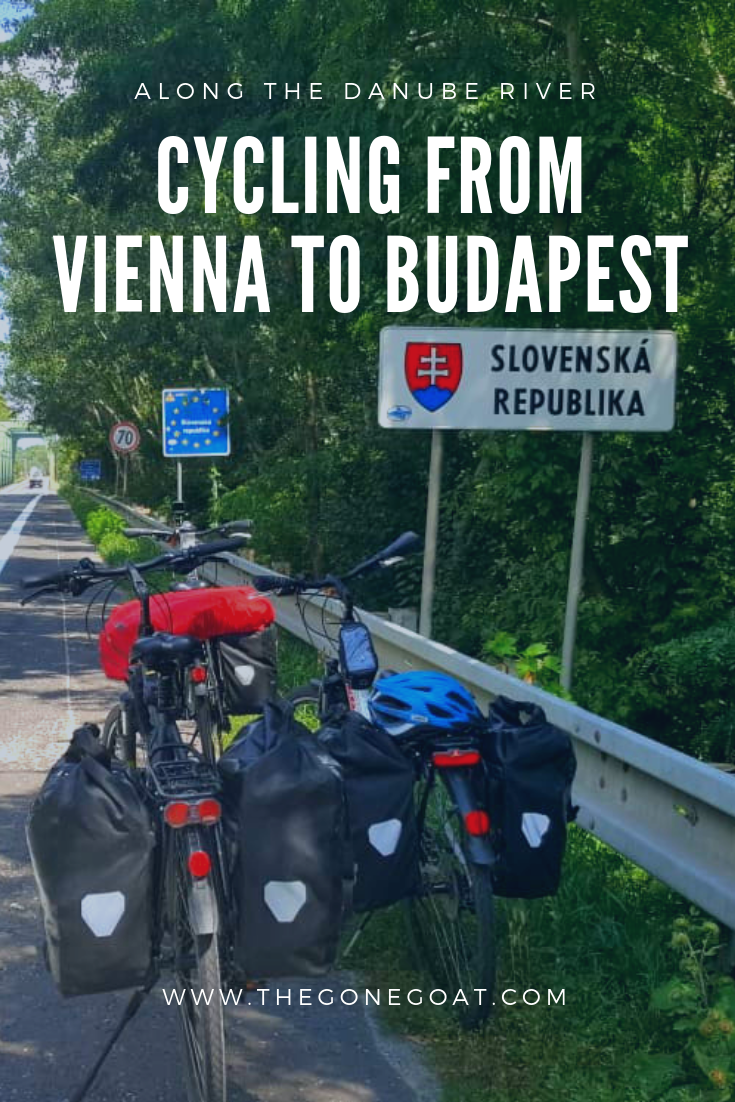 Cycling the Danube along Eurovelo route 6 from Vienna to Budapest was a sweatfest! In the peak of the European heatwave, me and my friends had an adventurous dream to bicycle tour this part of the world. #Europe #Bicycletouring #Cycling #Eurovelo6 #Vienna #Budapest #Danube