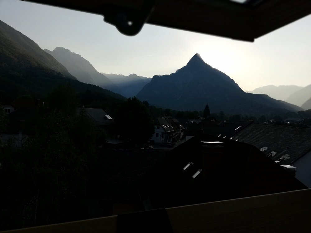 View of Svinjak from my bedroom window