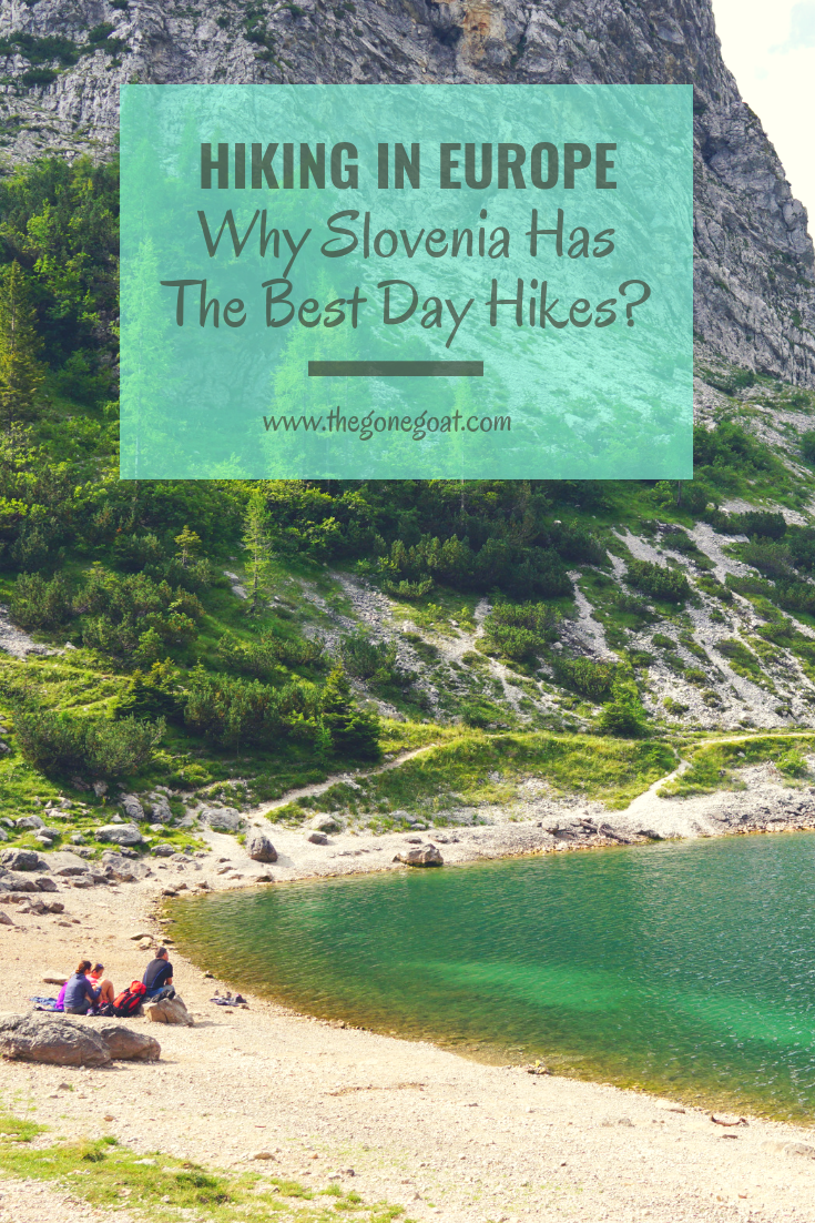 Hiking in Slovenia is a dream as it has the best day-hikes and best hiking trails in Europe that you can't miss. Afterall, hiking is a national past time for most Slovenians and something you might want to indulge in if you visit the greenest country in Europe. #Hiking #Trekking #Slovenia #Europe #Balkans #Mountains #SoloTravel #TravelDestinations