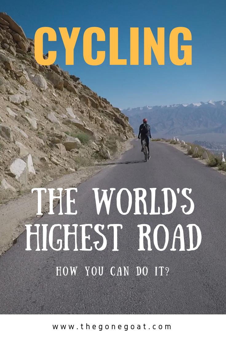 Cycling the world's highest road - khardung la