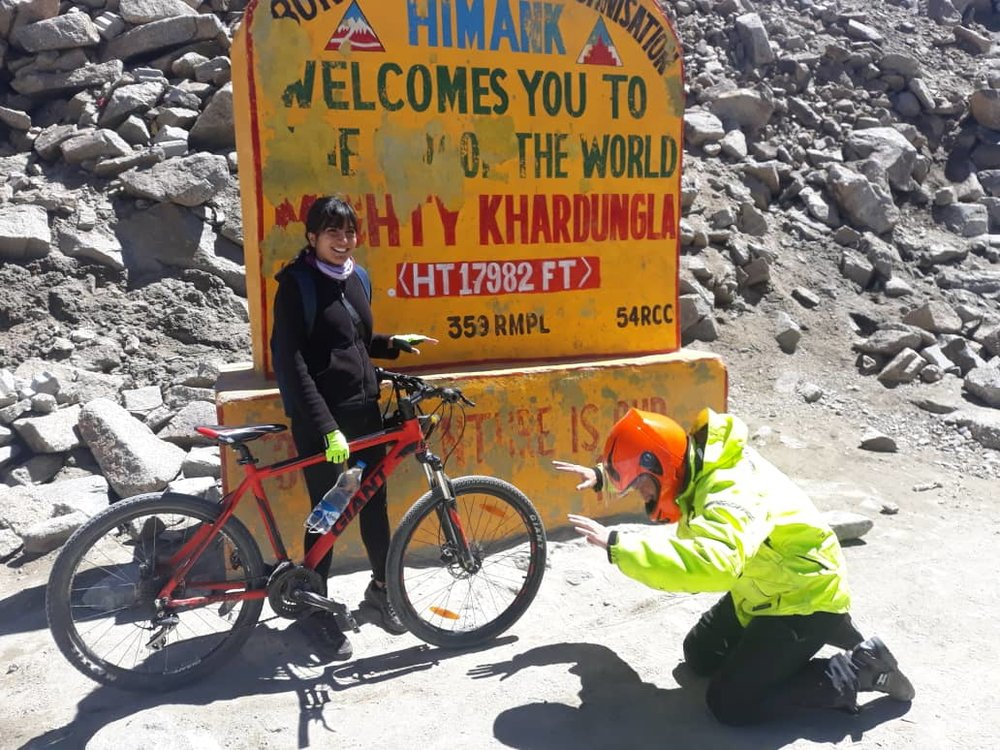 When cycle travel changes the way you approach life