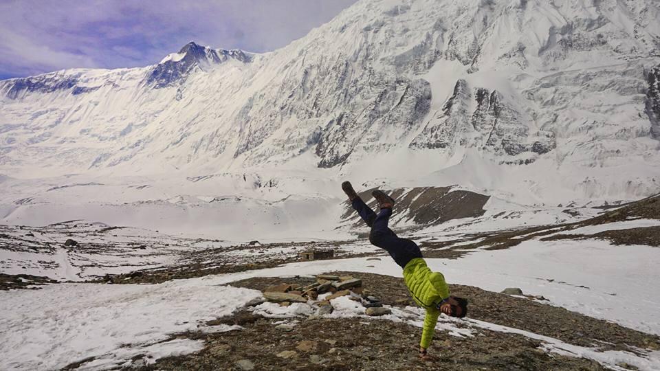 The edge of the tibetan plateau, thorong la pass. Pic credits:: Bimal karki