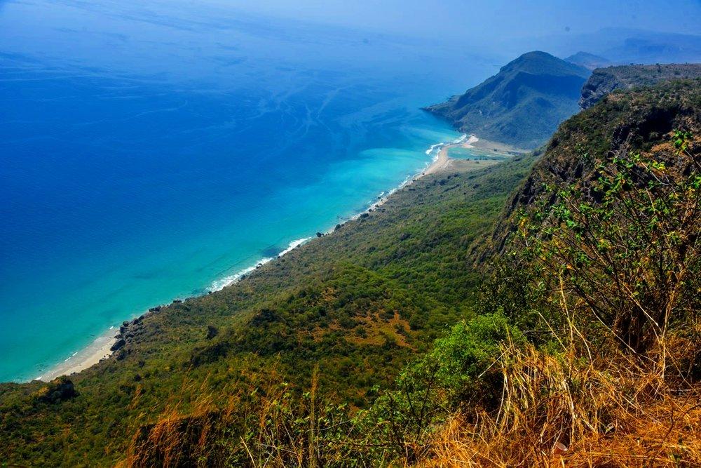 Who knew Oman had a stunning coastline? Pc: Joan Torres