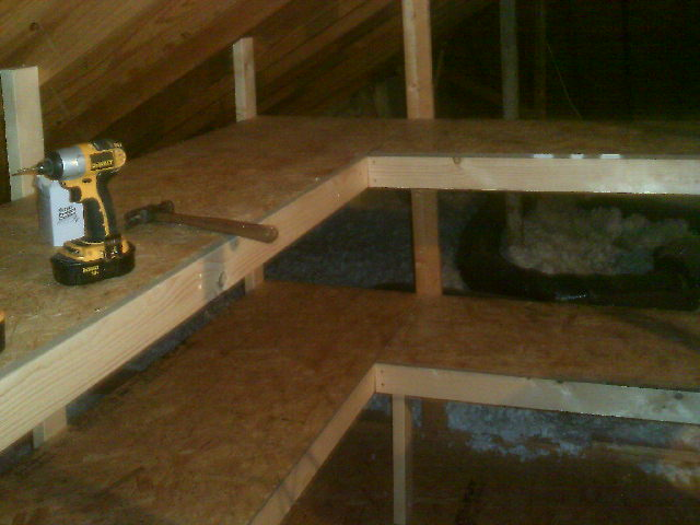 We Understand You May Need To Use Your Attic For Storage. We Can Build  Raised Flooring To Retain Storage Space And Access Paths To Allow Necessary  Clearance ...