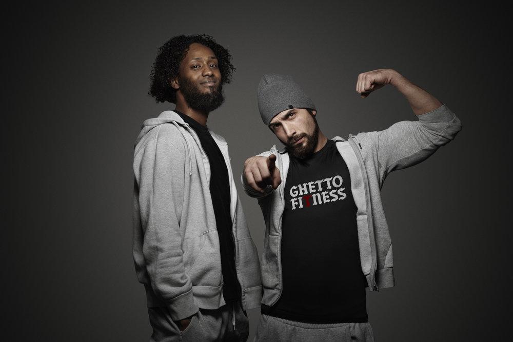 Ghetto Fitness aka Kian og MJ. Foto: Radio24sy