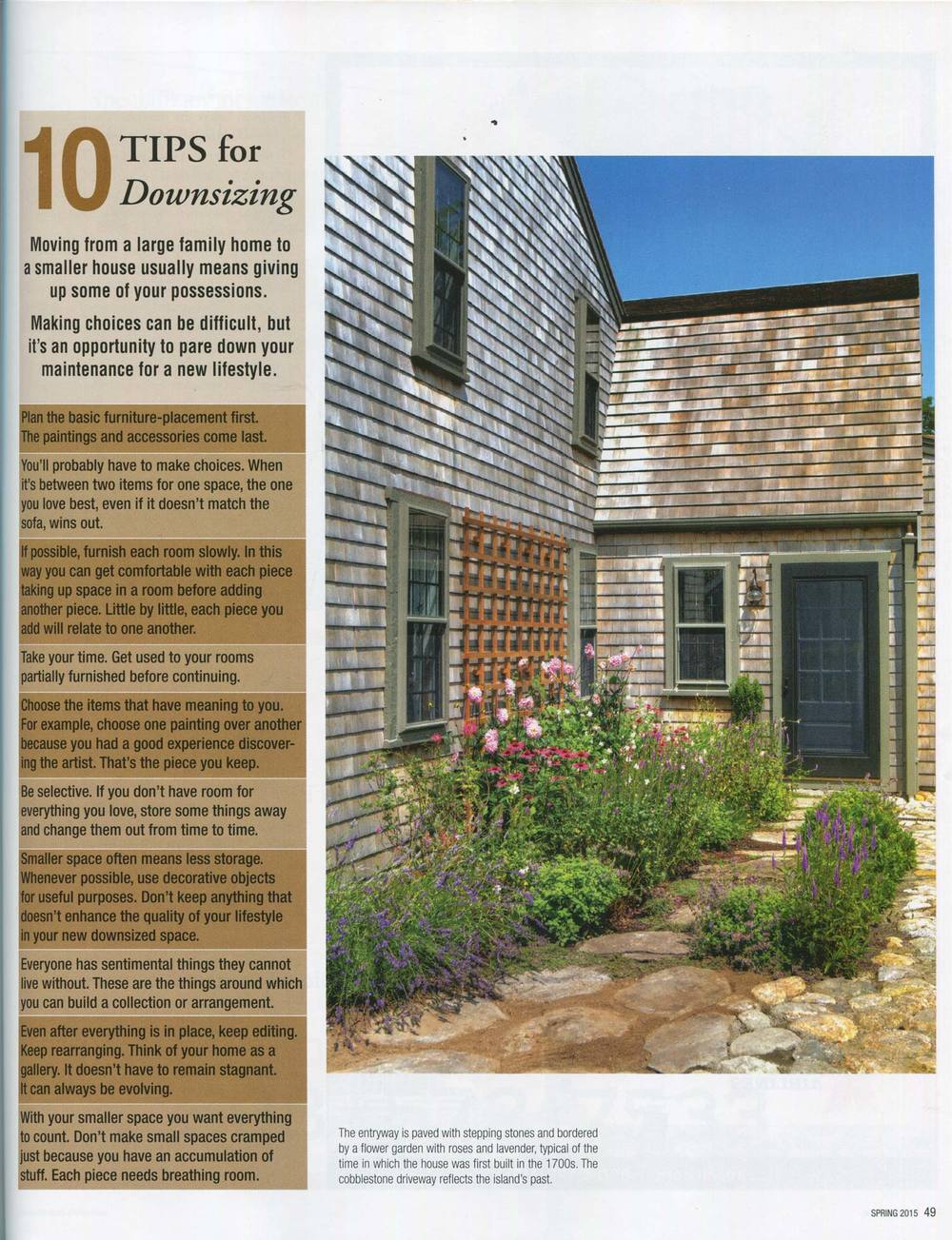 Nantucket Today 2015 | The Christopher Swain House | Design Associates