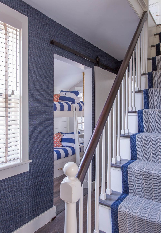 Small Nantucket Cottage | Blue Wall | Design Associates Inc.