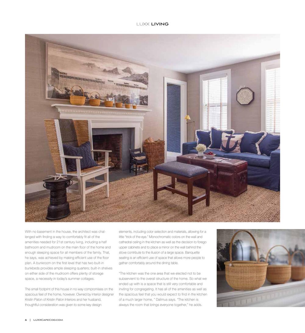 LUXX Cape Cod 2016 | Design Associates Inc