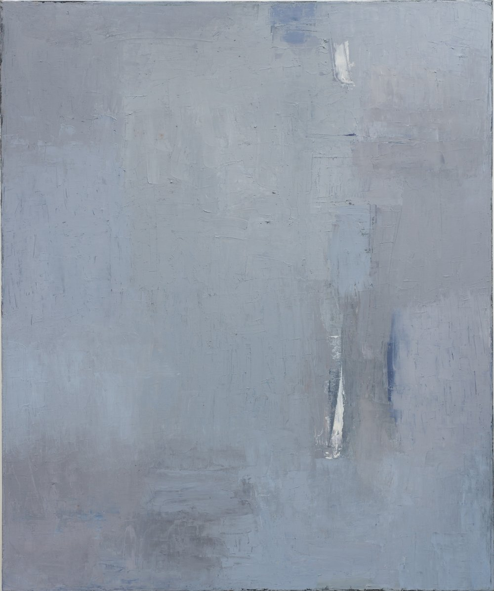 Untitled (blue under grey)