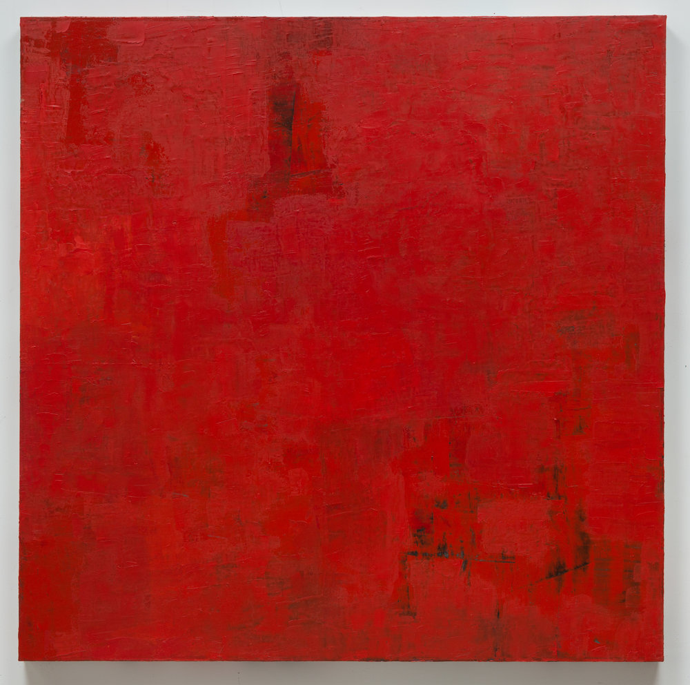 Untitled (red/ turquoise)