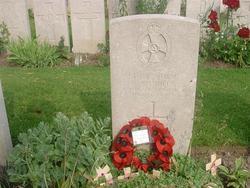 Nellie's grave in Belgium