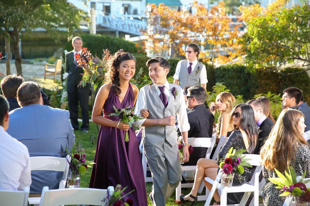 Wedding Roche Harbor Hotel