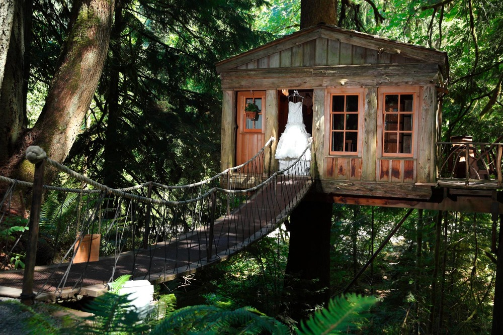 Wedding Treehouse Point