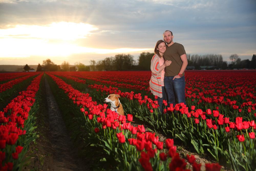 Engagement Photos Tulip Fields LaConner Washington12.jpg