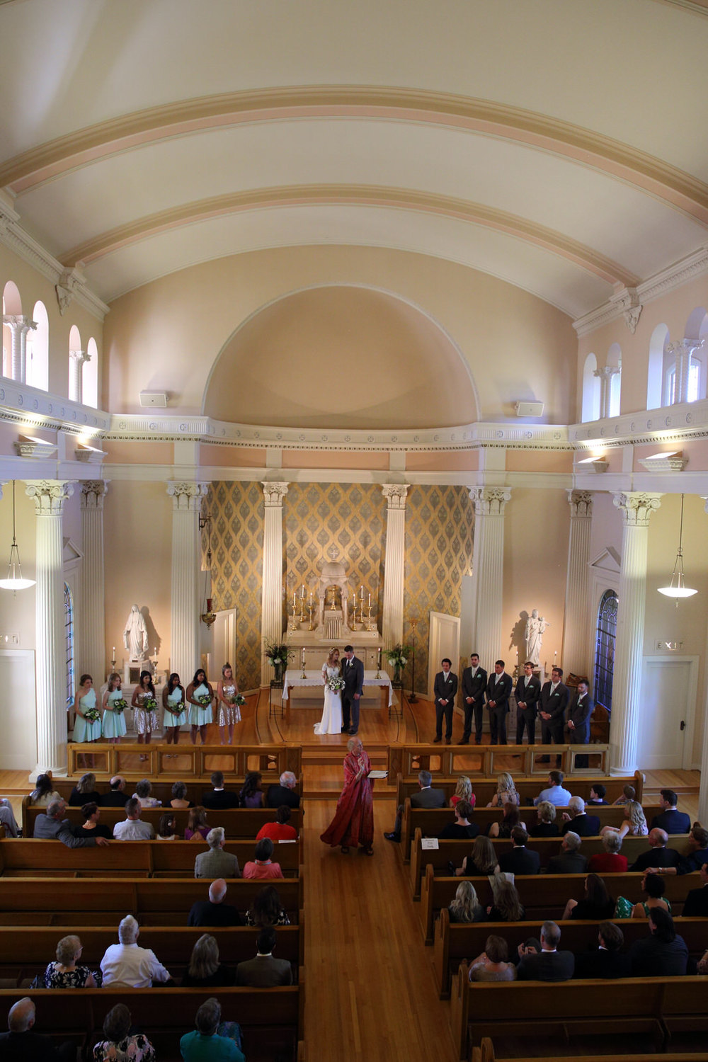 Wedding Holy Names Academy