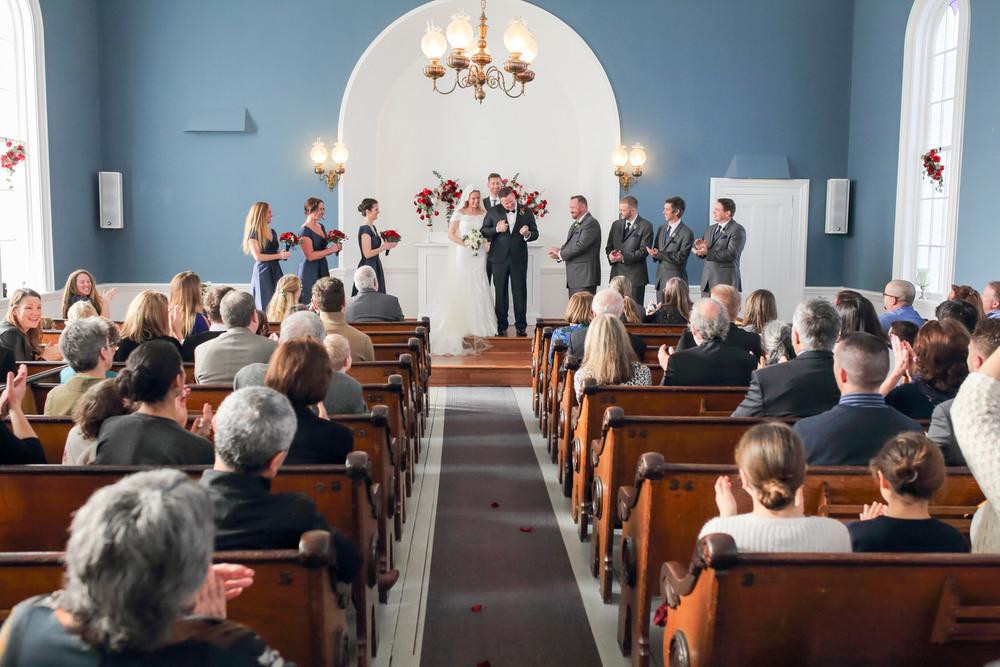Wedding Port Gamble St Pauls Church