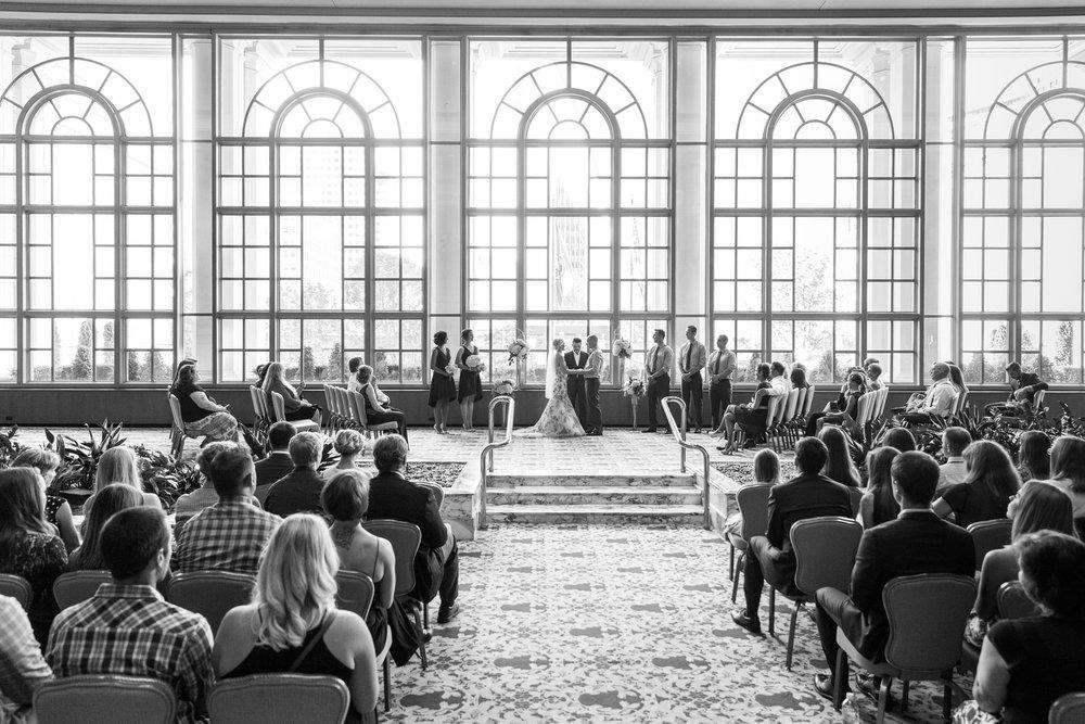 Wedding Photos Fairmont Olympic Hotel