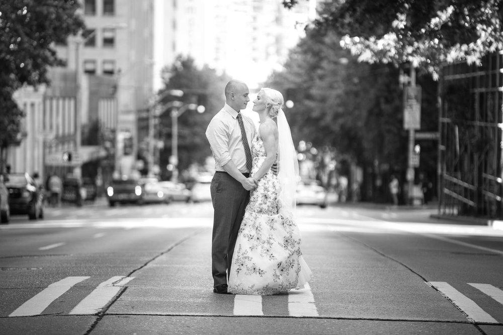 Downtown Seattle Wedding Photos