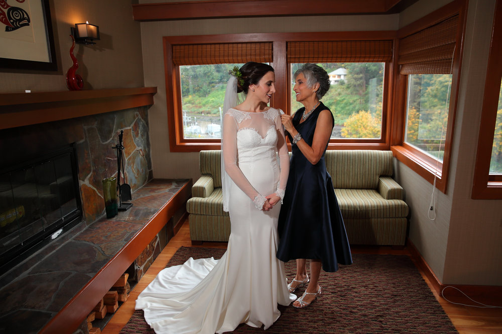 Wedding Salish Lodge