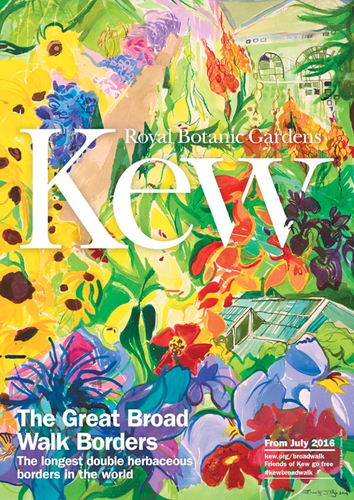 Poster promoting the Great Broad Walk Borders project