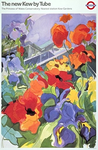 "The new Kew by Tube  © London Transport museum collection Cost: £20 Size: (h x w) 84cm x 56cm (33"" x 22"") Price includes post and packaging within the UK. Visit the online store to order."