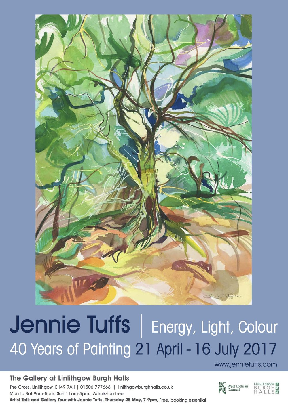 Energy, Light, Colour - ft Standing Proud © Jennie Tuffs.