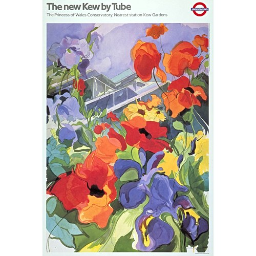 The new Kew by Tube 1987