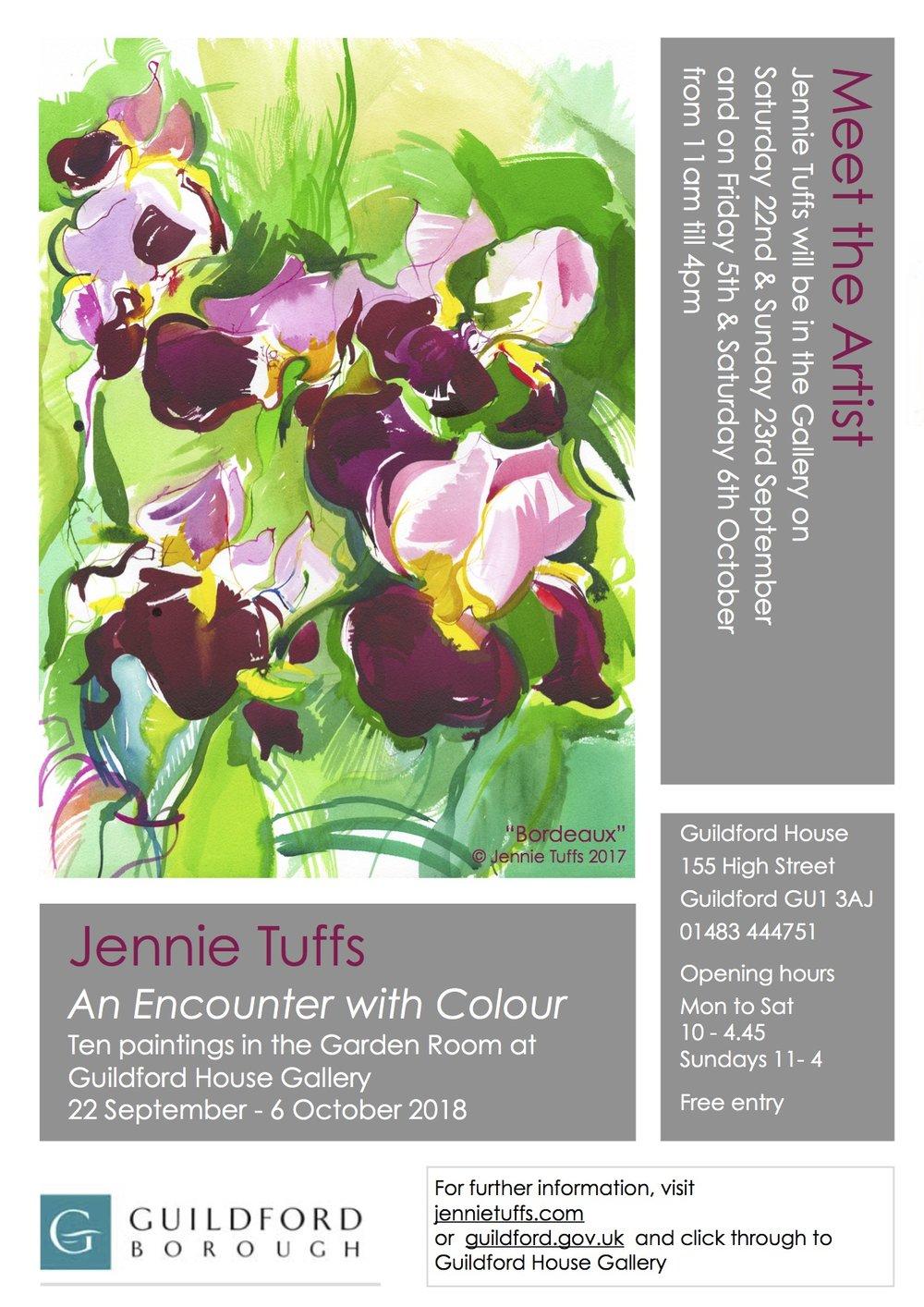 An Encounter with Colour - ft Bordeaux © Jennie Tuffs.