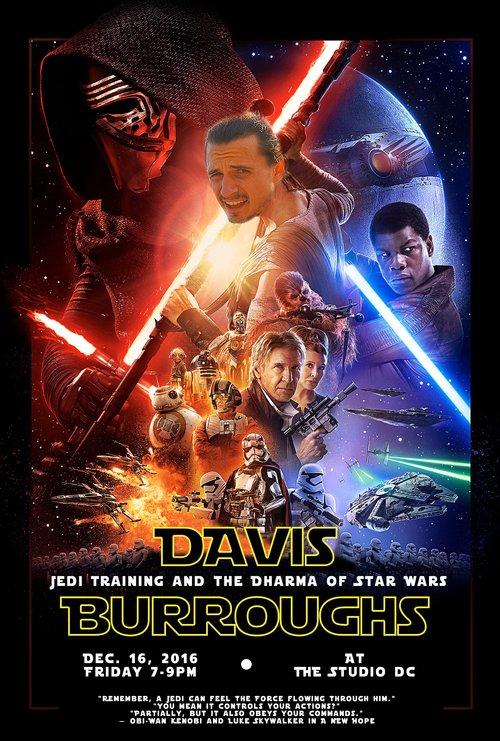 workshops retreats flow davis jedi training and the dharma of star wars