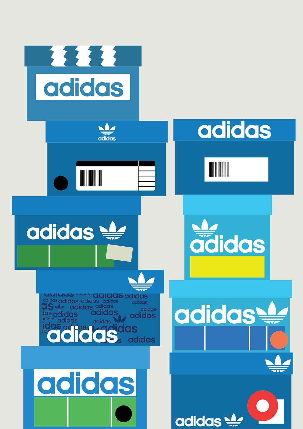 Sneaker Boxes Adidas 1500
