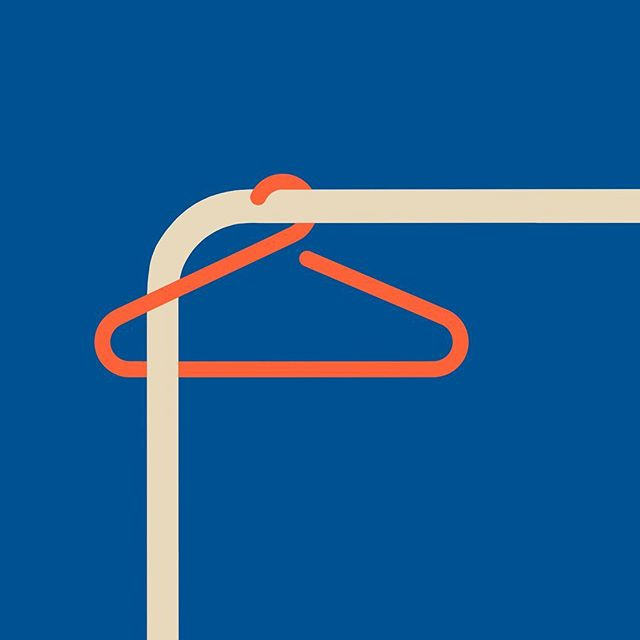 Continuing to play with the coat hanger...⠀ .⠀ .⠀ .⠀ #trapped #coathanger #illustration #graphics #procreate