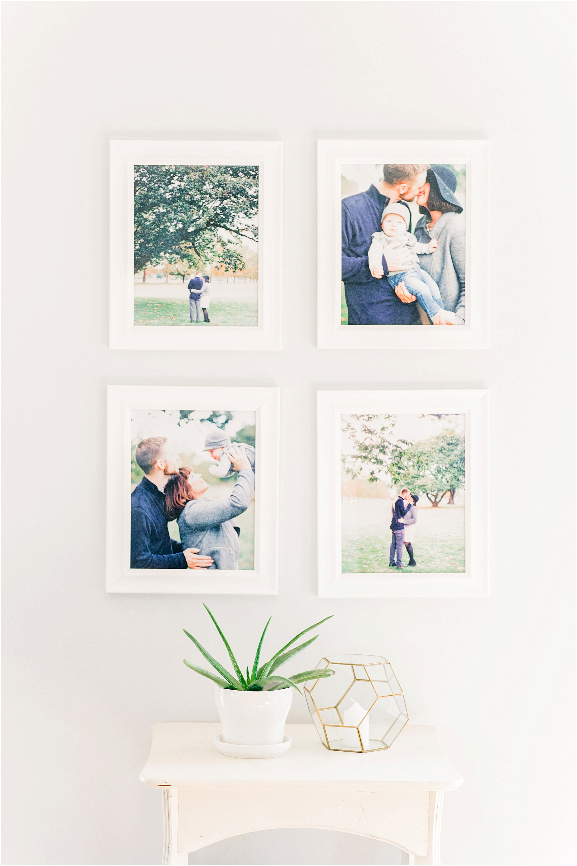 A simple gallery wall that will work in any home - The Jordan Brittley Blog (www.jordanbrittleyblog.com)