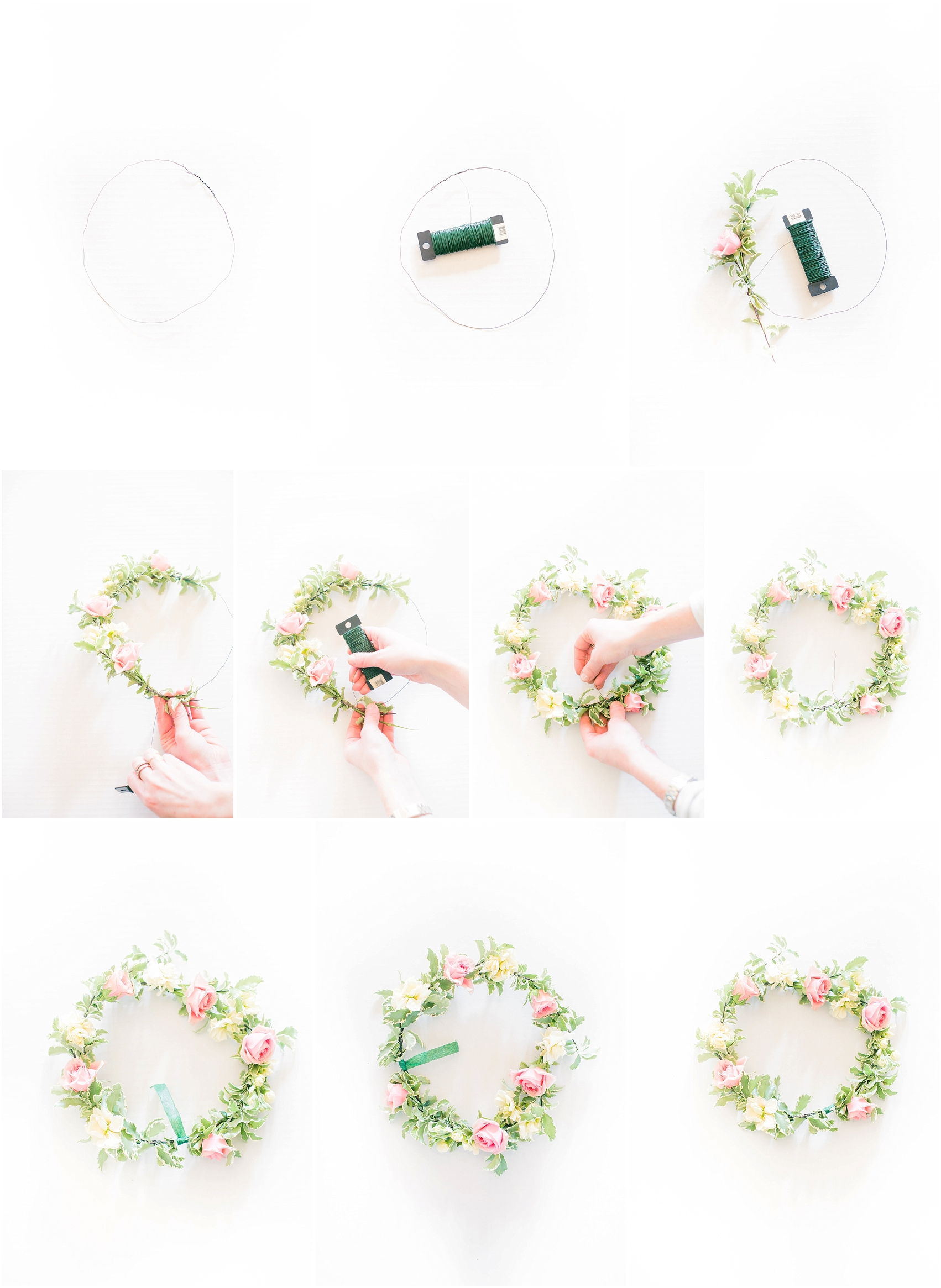 How to make your very own floral crown