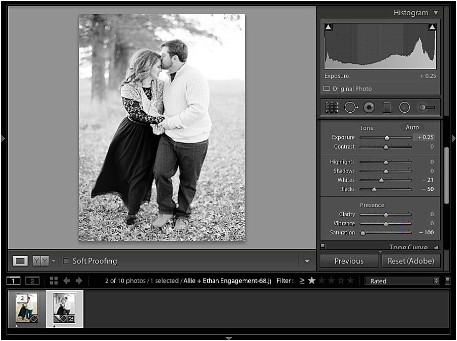 How I Edit My B&W Images - Jordan Brittley Photography