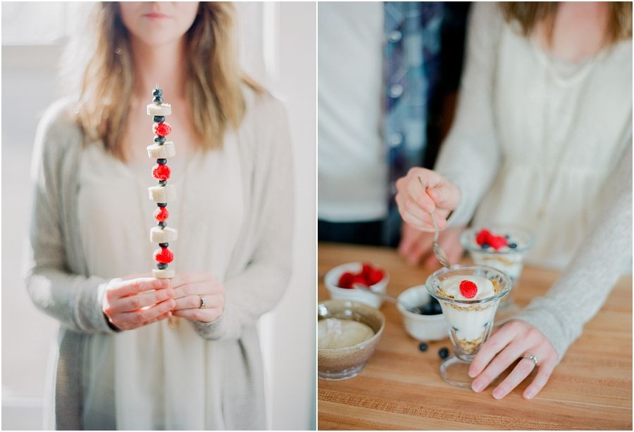 Valentine's Date Night at Home - Jordan Brittley Photography