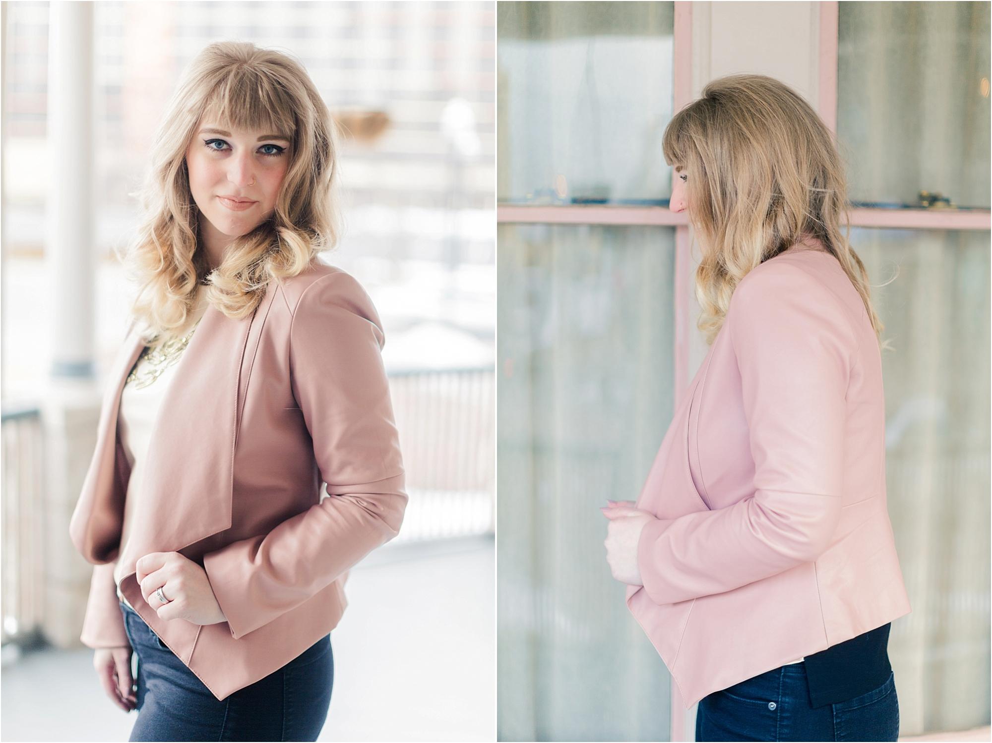 Pink Blazer from DressPresh - The Jordan Brittley Blog