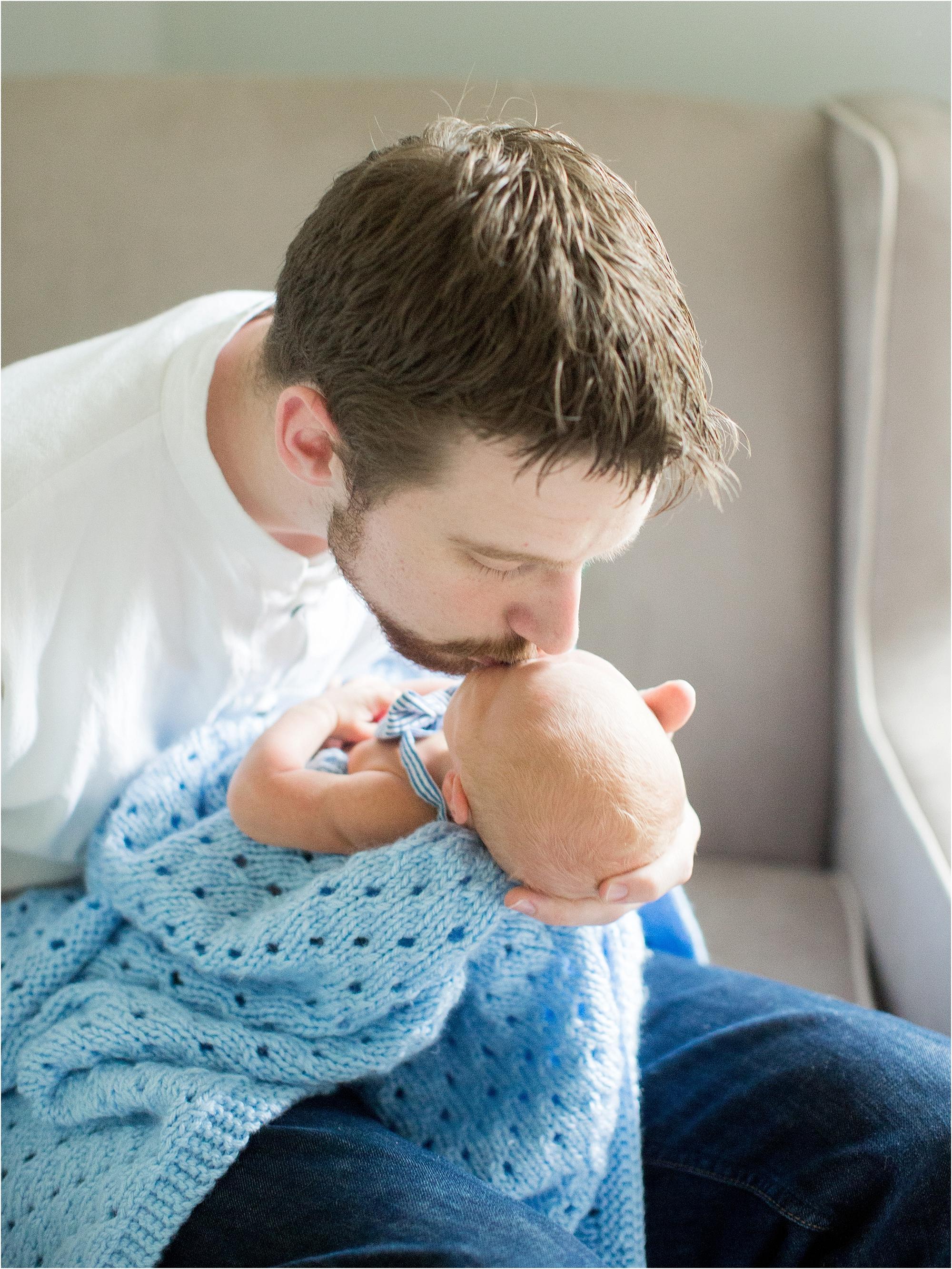 Daniel Hosea - Newborn Photography by Jordan Brittley