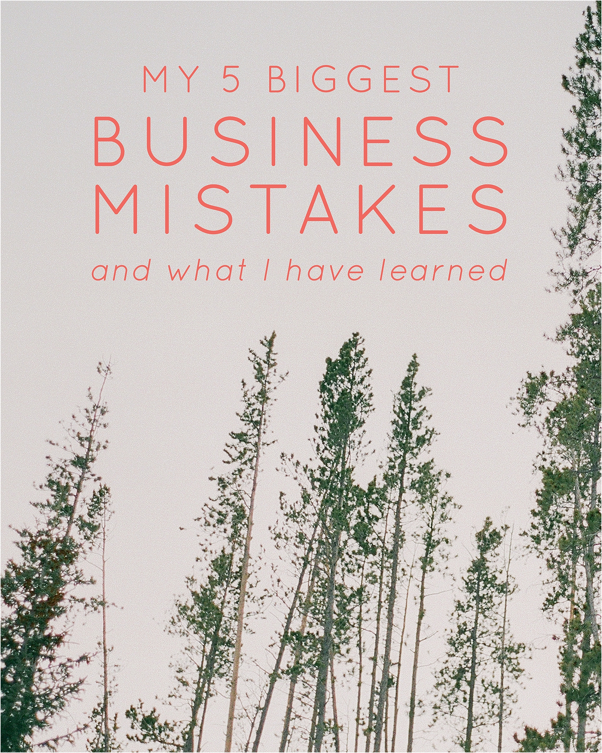 My 5 Biggest Business Mistakes - The Jordan Brittley Blog