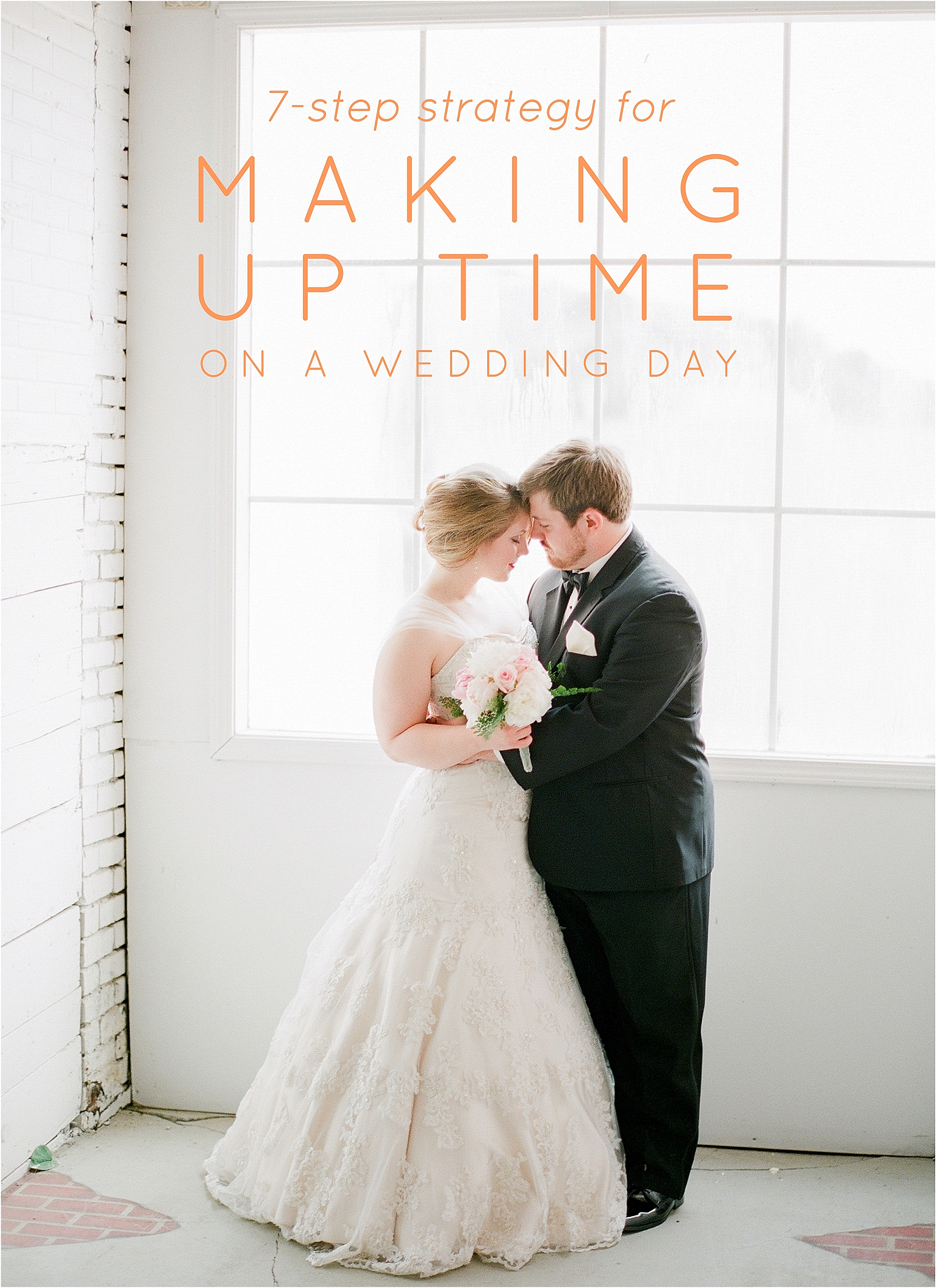 7-Step Strategy for Making Up Time on a Wedding Day - The Jordan Brittley Blog