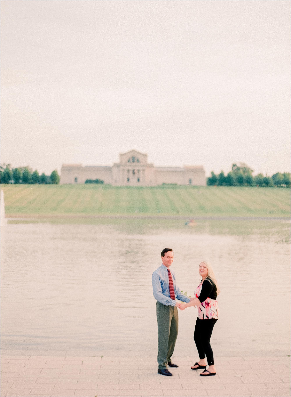 Elegant St Louis Engagement by Jordan Brittley Photography