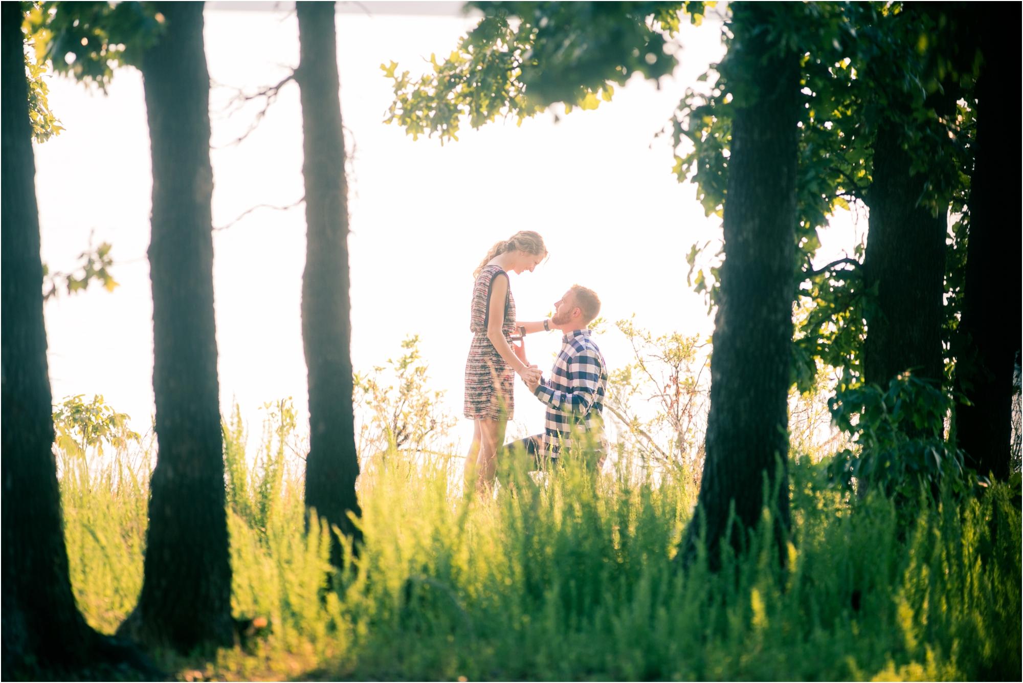 David and Jaelyn Proposal - Jordan Brittley Photography