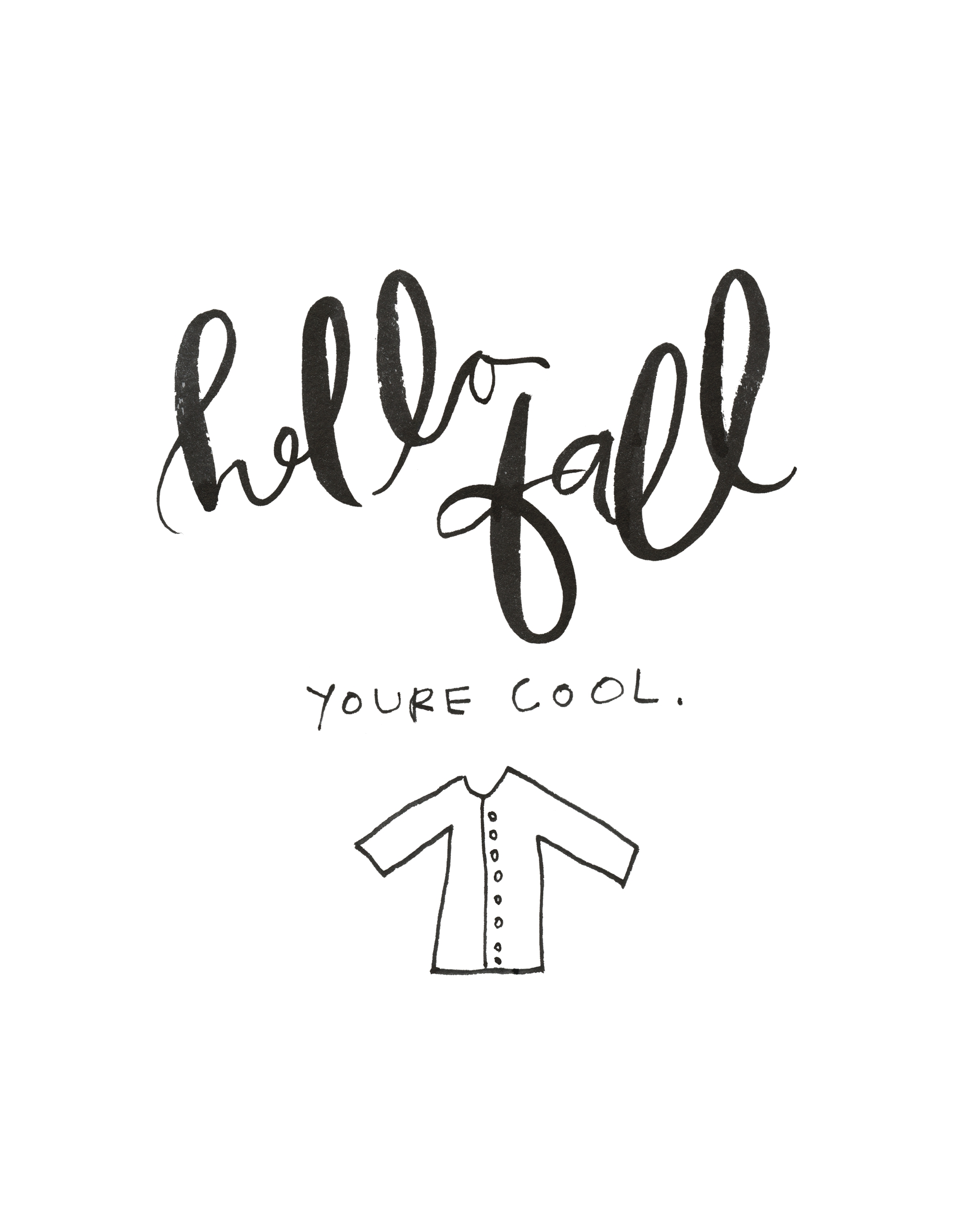 Hello Fall - the Jordan Brittley Blog