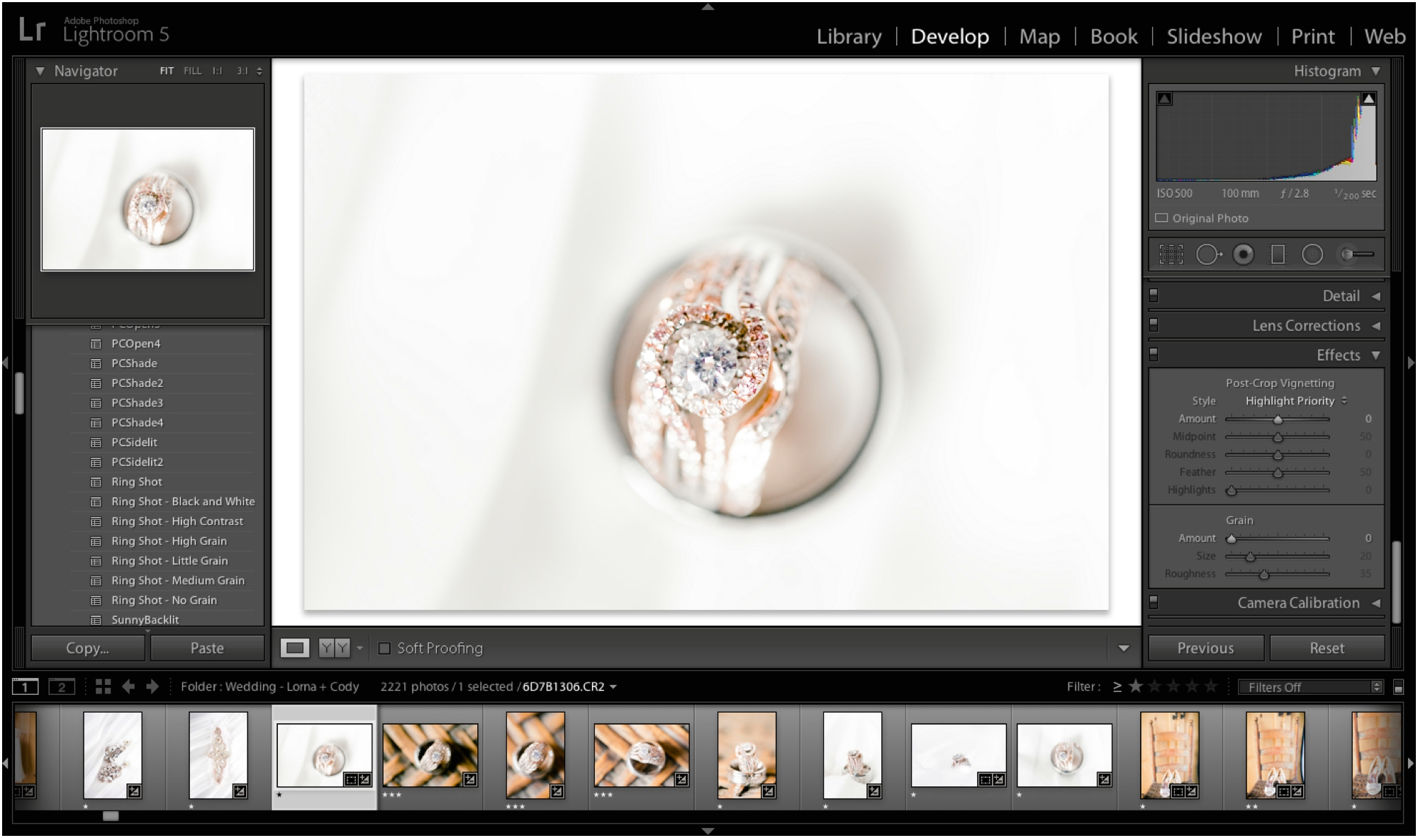 How to add grain to a photograph in Lightroom - Jordan Brittley Blog