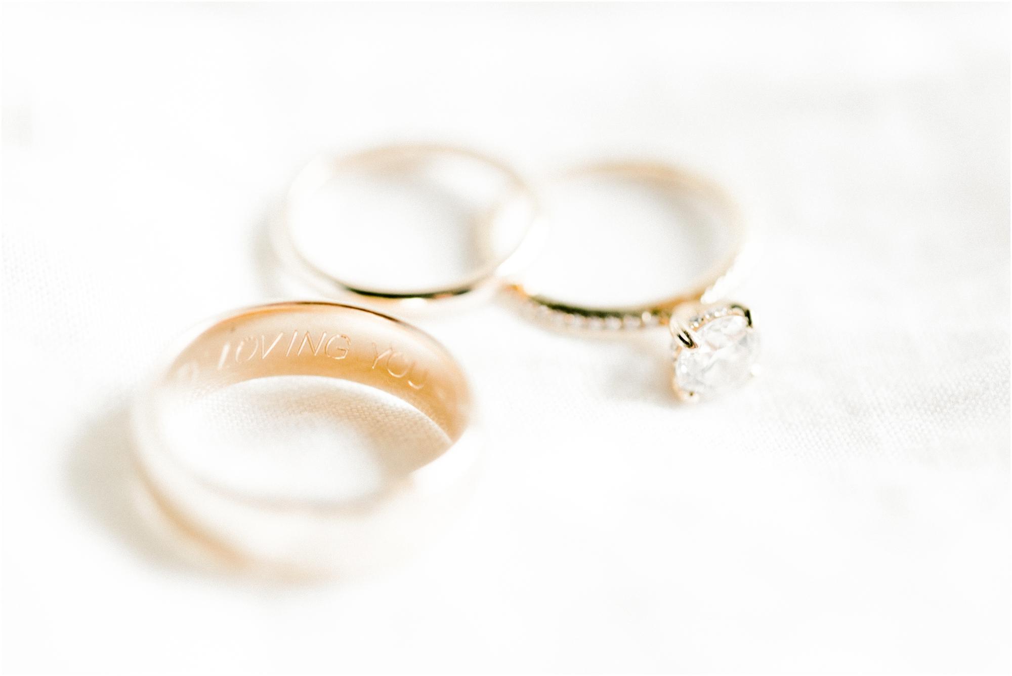 Wedding Ring Inscription by Jordan Brittley Photography