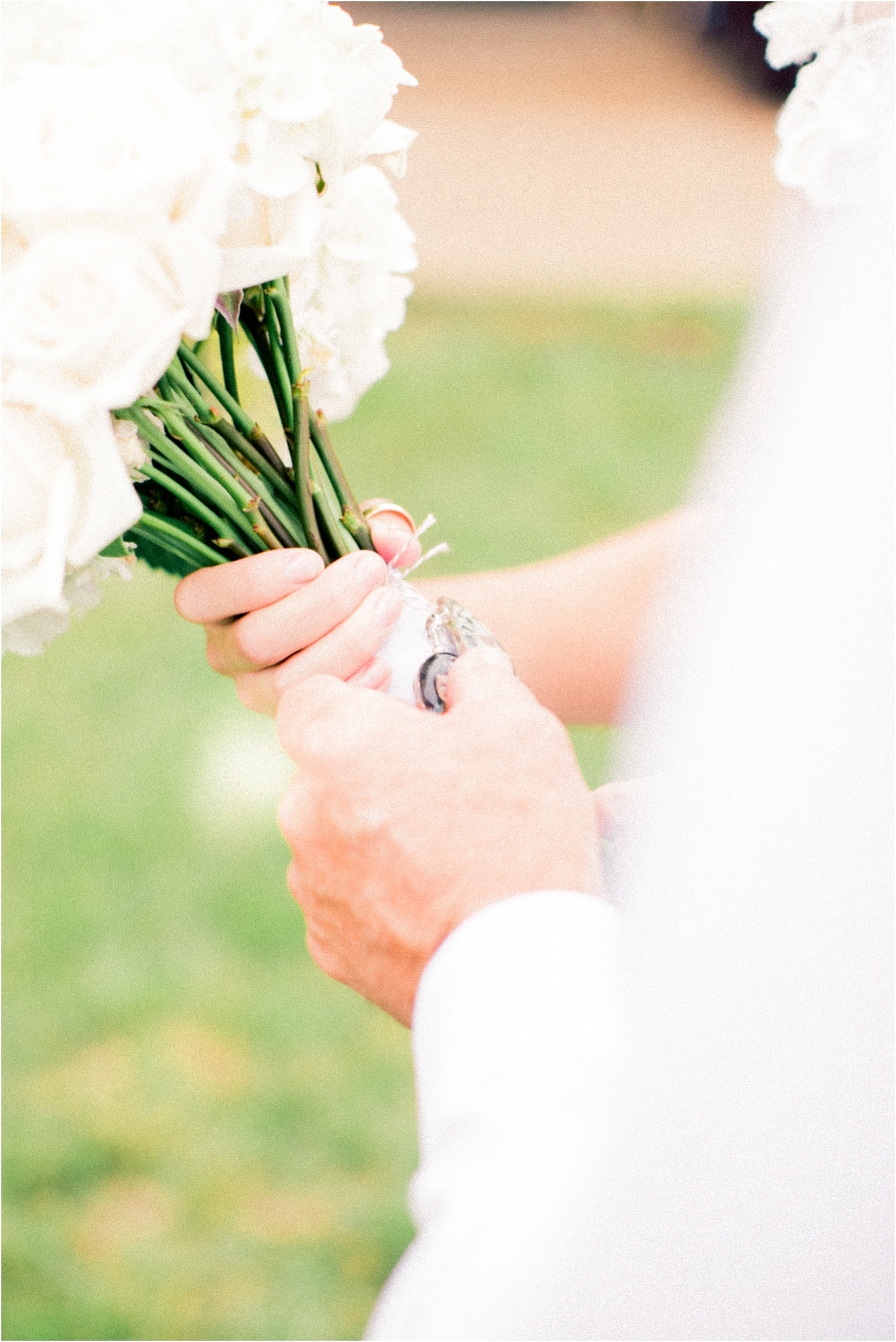 Bouquet details at a Timberline Barn Wedding by Jordan Brittley Photography