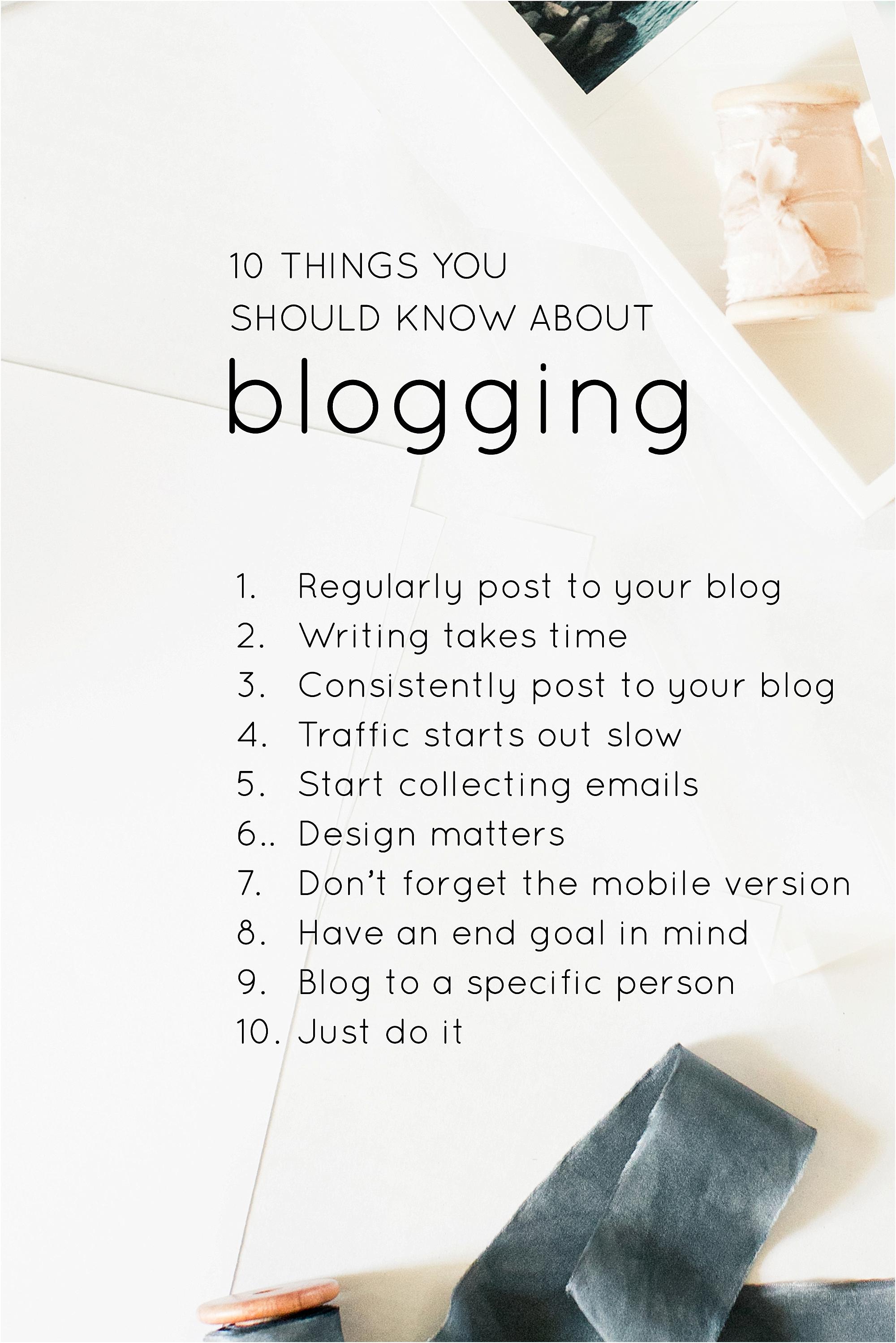 10 things you need - The Jordan Brittley Blog