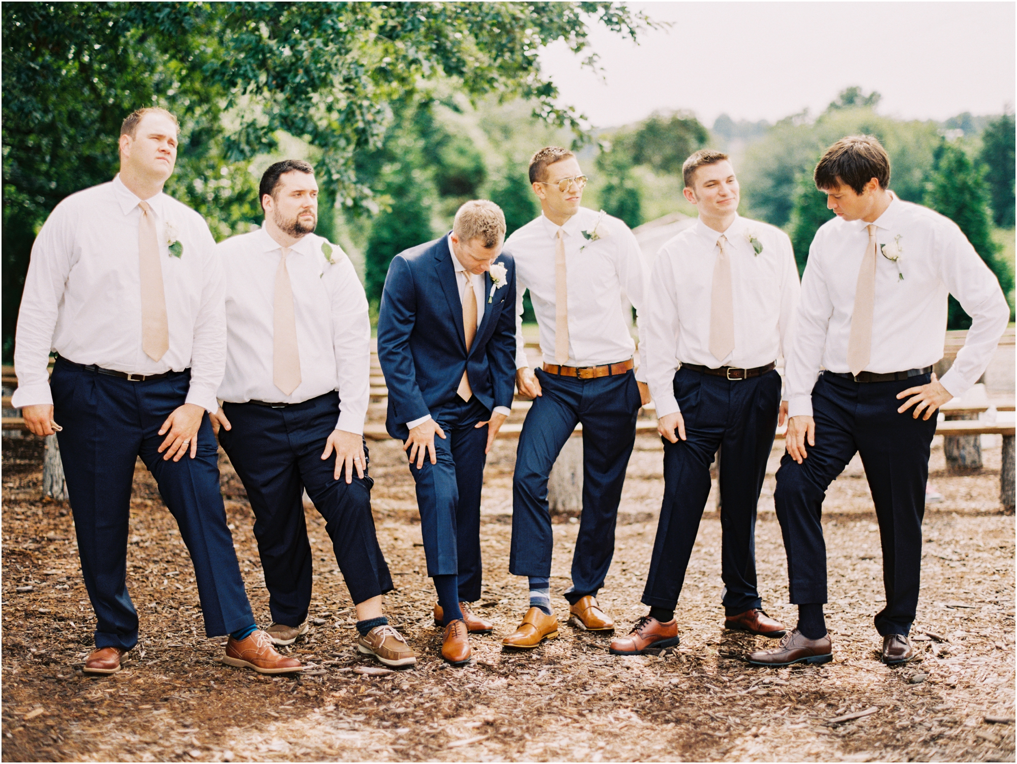 Look for groomsmen at a southern inspired wedding by Jordan Brittley Photography (www.jordanbrittley.com)