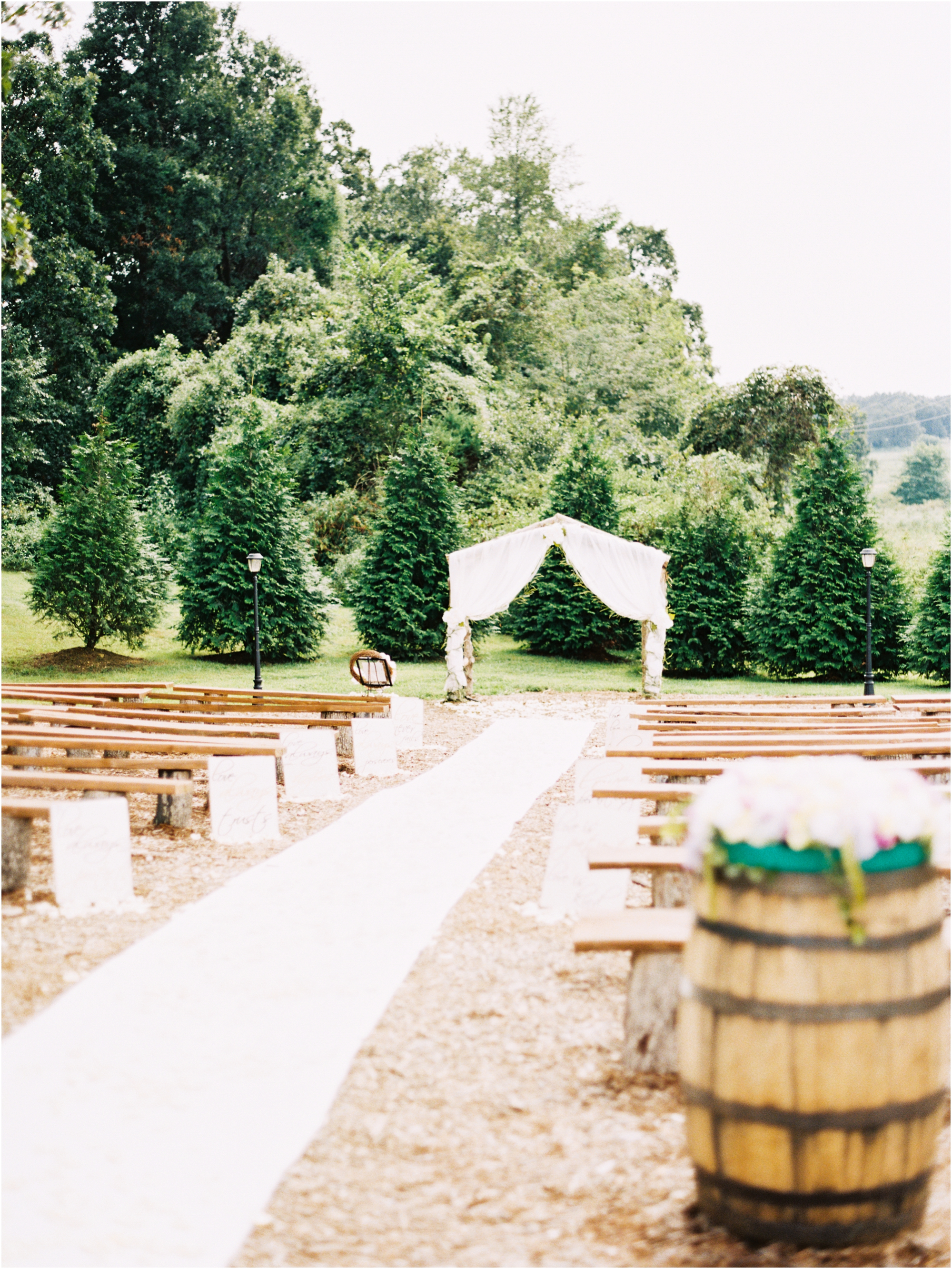 Ceremony Details for the southern bride by Jordan Brittley Photography (www.jordanbrittley.com)