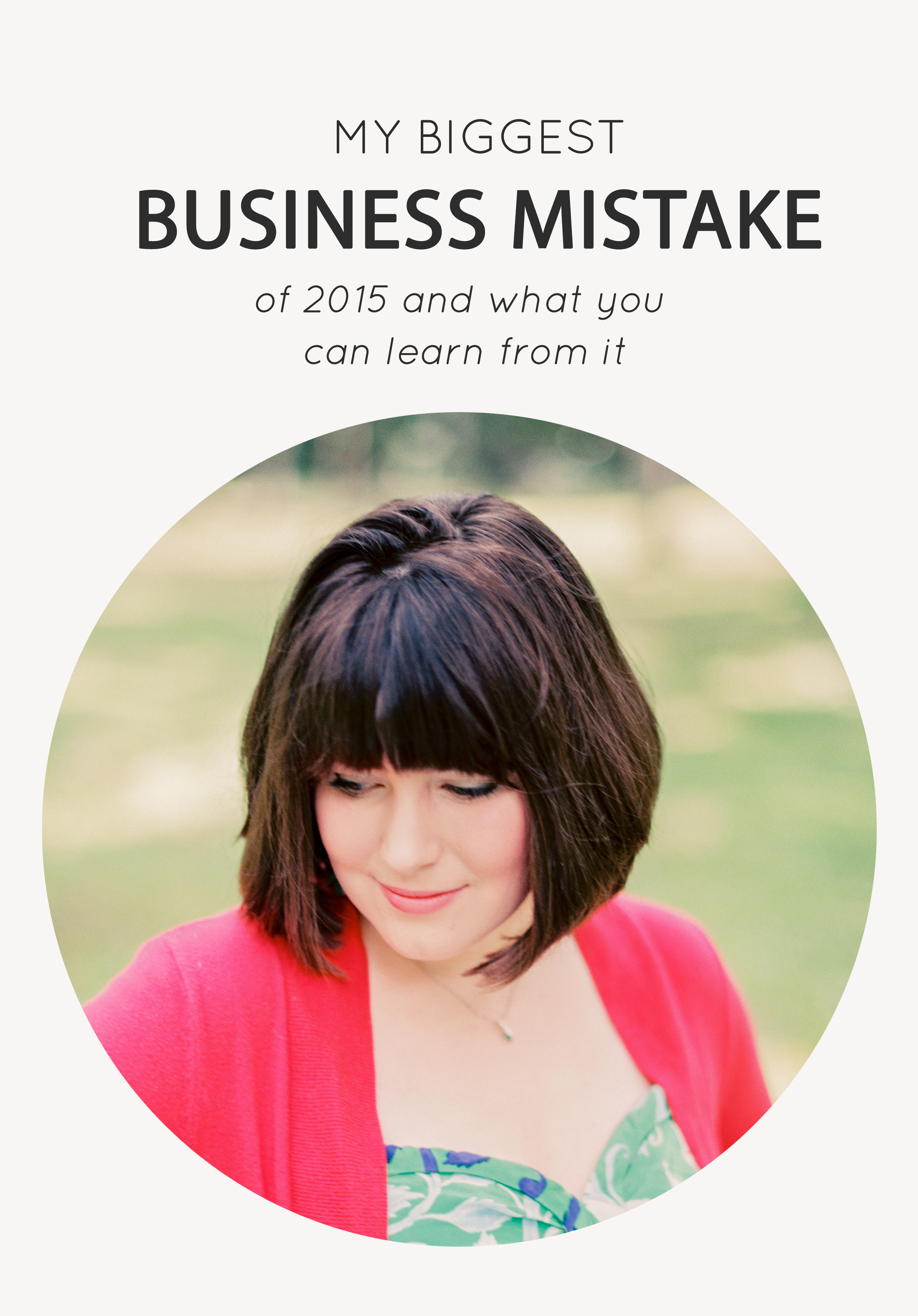 My biggest business mistake and what you can learn from it - The Jordan Brittley Blog